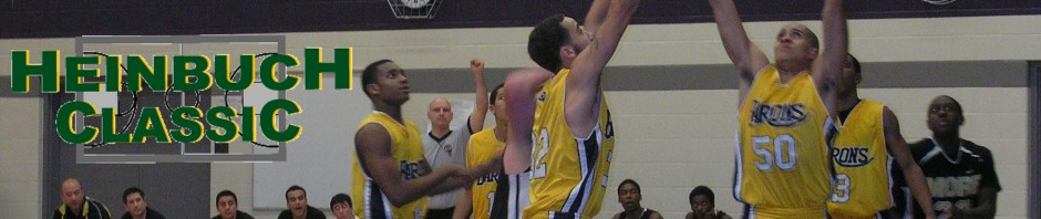 33rd Annual Court Heinbuch Sr. Boys tournament from Nov 25th-26th in Kitchener