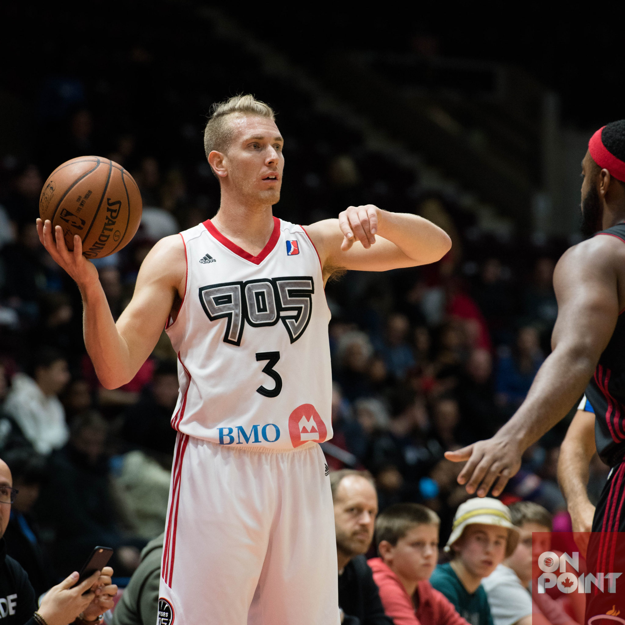 Raptors 905 Fall Short to Maine Red Claws in Low Scoring Outing