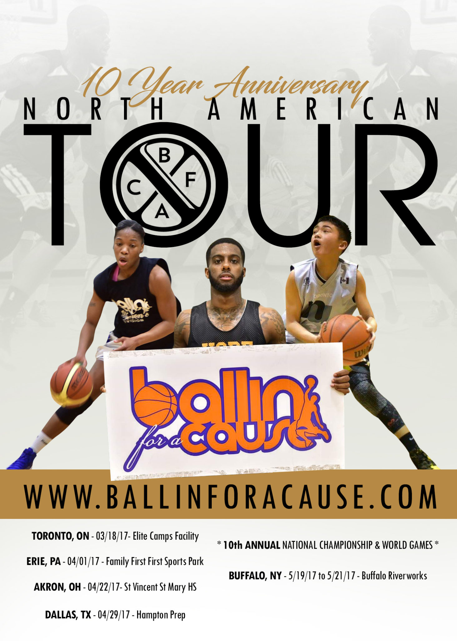 Ballin' For a Cause presents March Madness in the 6ix