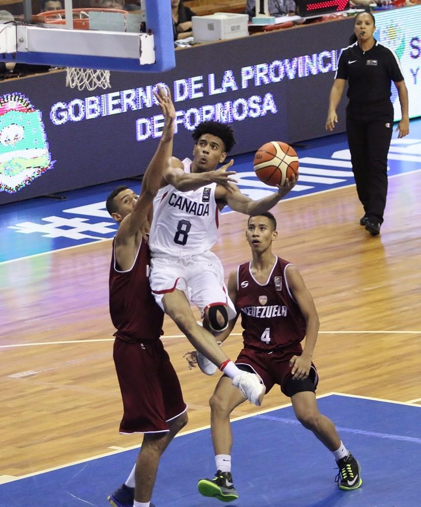 U16 Men Defeat Venezuela 80-43 at 2017 FIBA Americas Championship