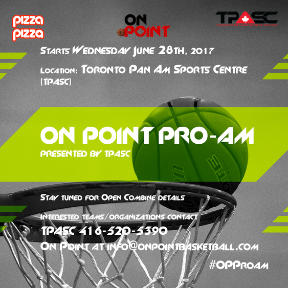 On Point Summer Pro Am Presented by TPASC Begins June 28th, 2017