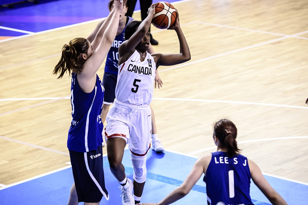 Canada opens up FIBA U19 Women's World Cup with a 91-45 blowout win over Korea