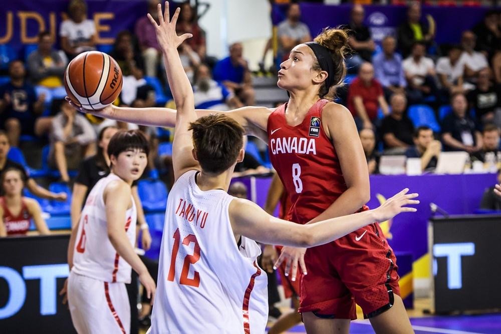 Canada takes down China 68-65 to advance to the FIBA U19 World Cup Semis