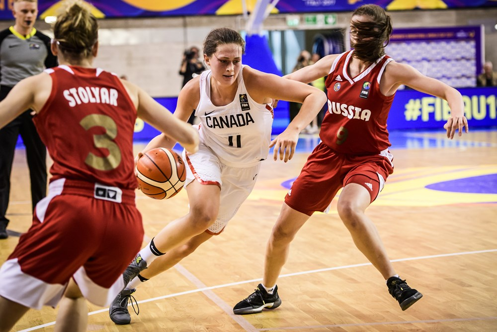 Canada's U19 Women come up short vs. Russia, Face Japan for Bronze