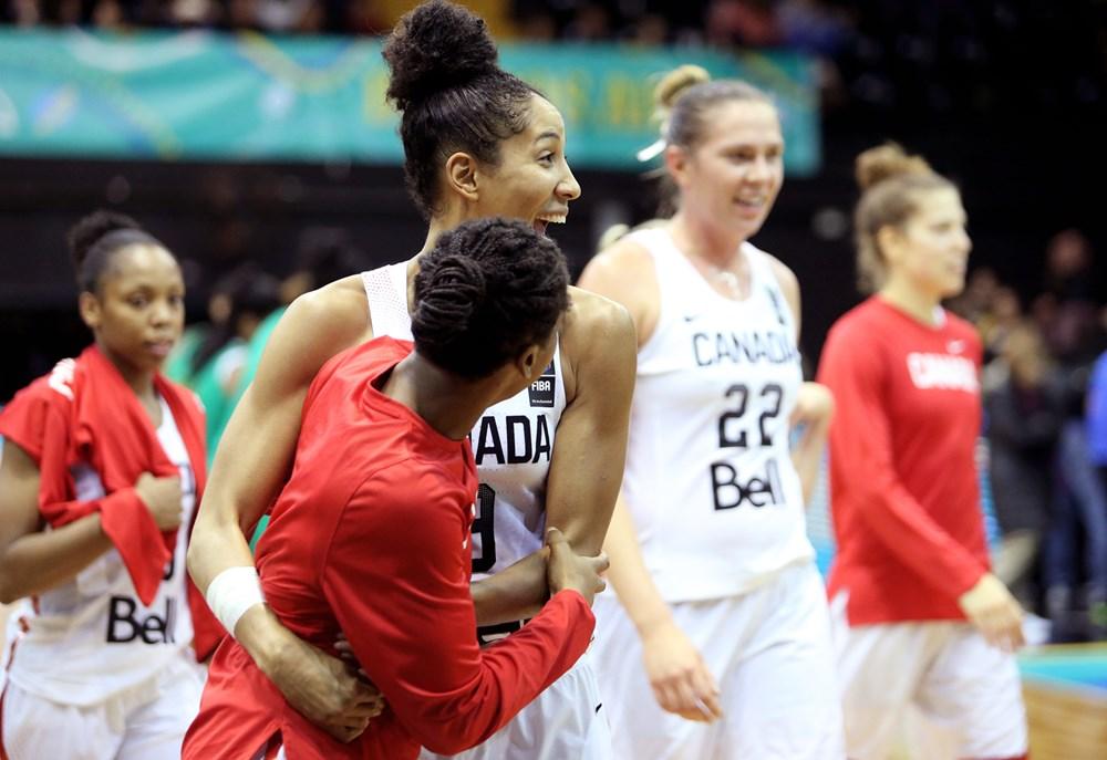 Canada defeats Brazil 84-45 in the FIBA Women's Americup Semifinals