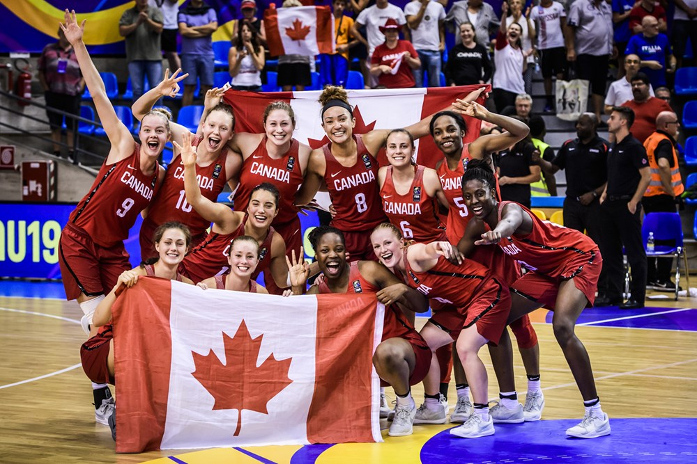 Canada takes home first ever U19 medal, downing Japan 67-60