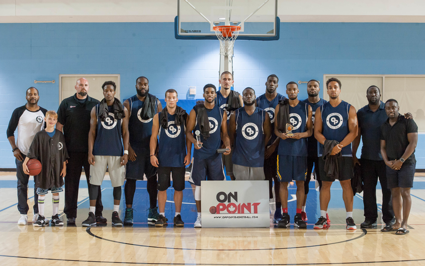 Team On Point clinches inaugural On Point Summer Pro Am 80-73 over Toben Basketball