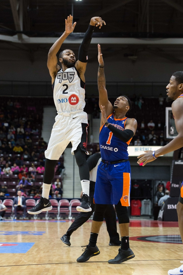 Raptors 905 Win Yet Another Thriller Against Westchester
