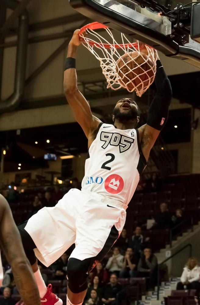 Raptors 905 down the Lakeland Magic for their 7th win in a row