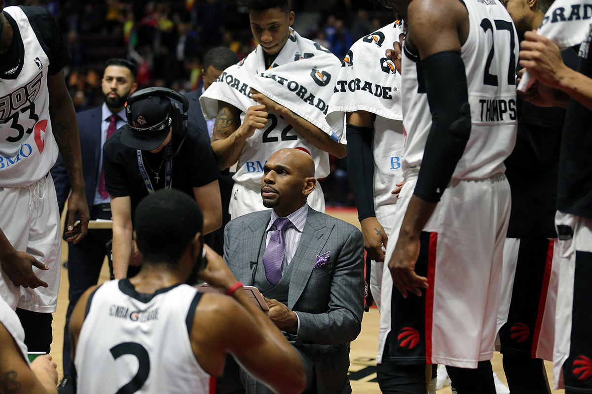 Stackhouse praises the Toronto Raptors coaching staff, particularly Head Coach Dwane Casey
