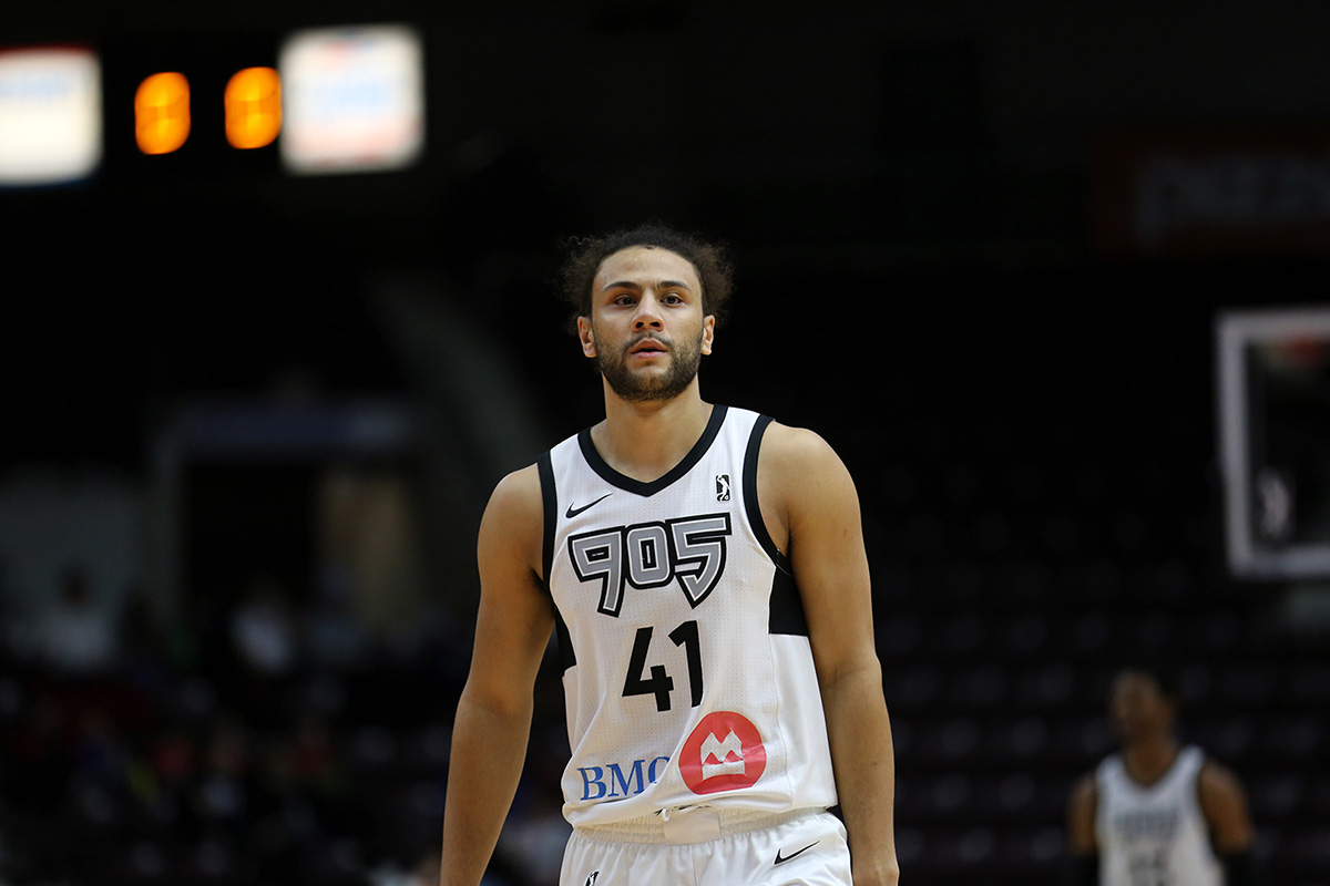 Raptors 905 hold off the Maine Red Claws to improve to 23-14 on the season