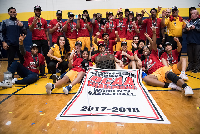 Humber dynasty continues as they win fourth straight OCAA title