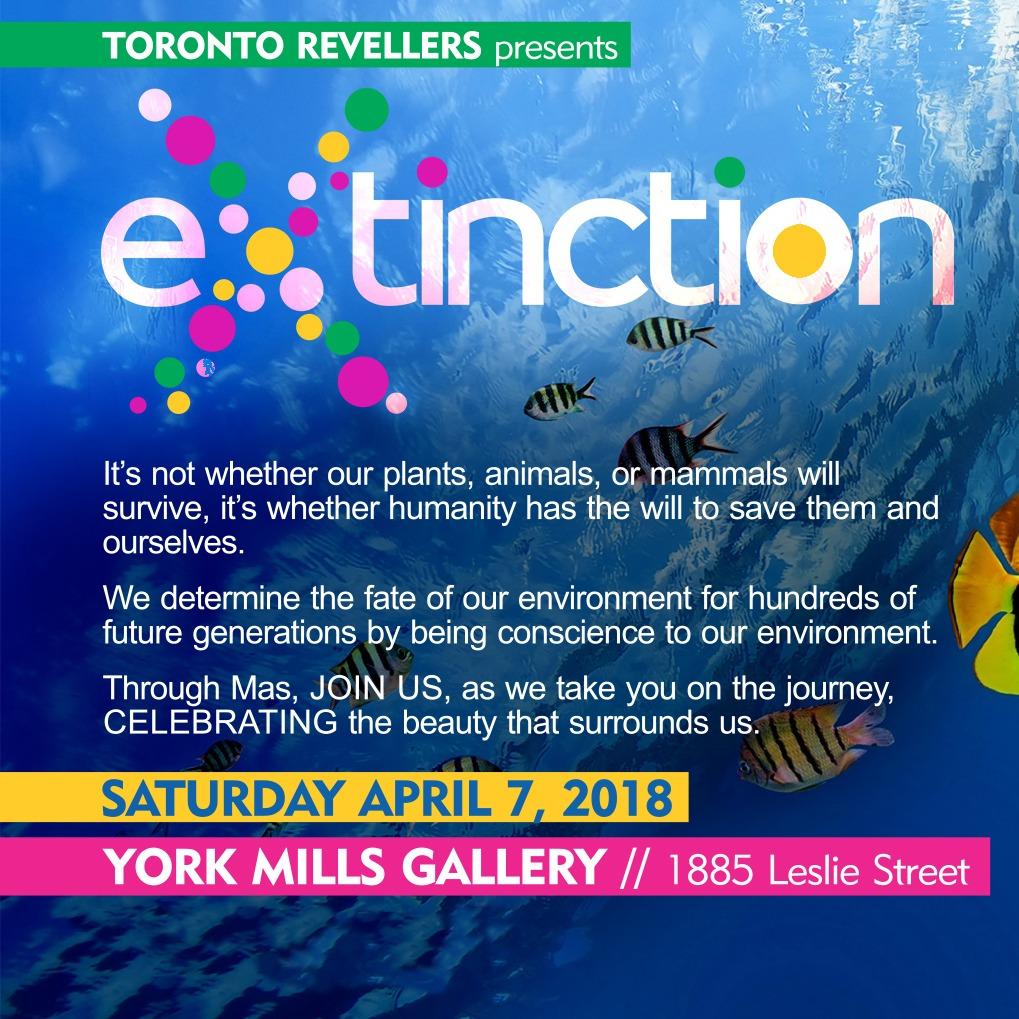 Jamaal Magloire's Toronto Revellers Caribbean Carnival 2018 Band Launch Saturday April 7, 2018