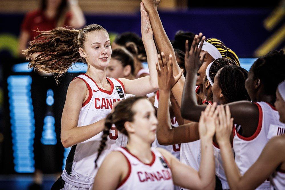Canada defeats Mali on Final Day of FIBA U17 Women's Basketball World Cup 2018