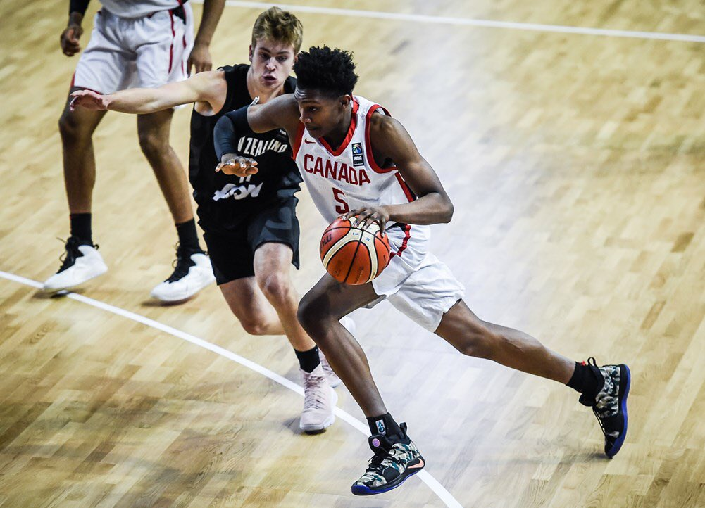 Canada remains undefeated with victory over New Zealand in FIBA U17 World Cup