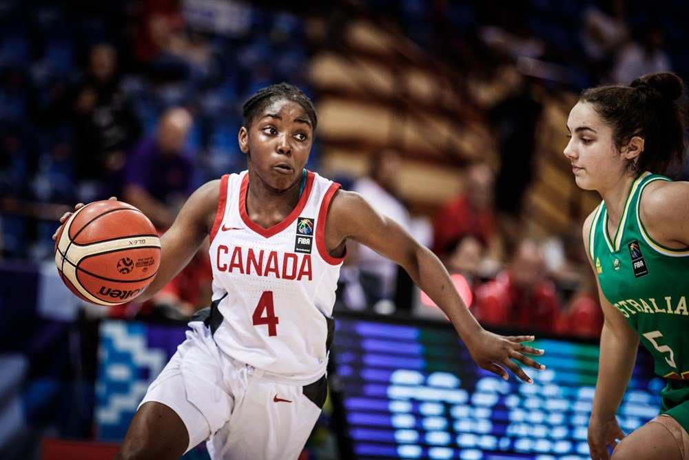 Canada falls to Australia and moves on to FIBA U17 Women's Basketball World Cup 2018 Round of 16
