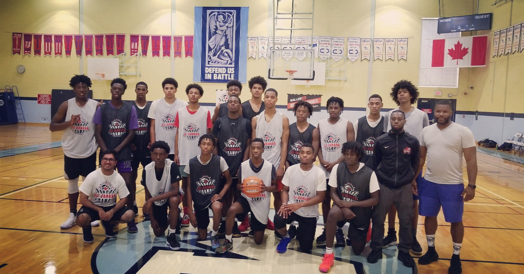 Inaugural Pangos All-Canada Camp showcased some top Canadian basketball talent