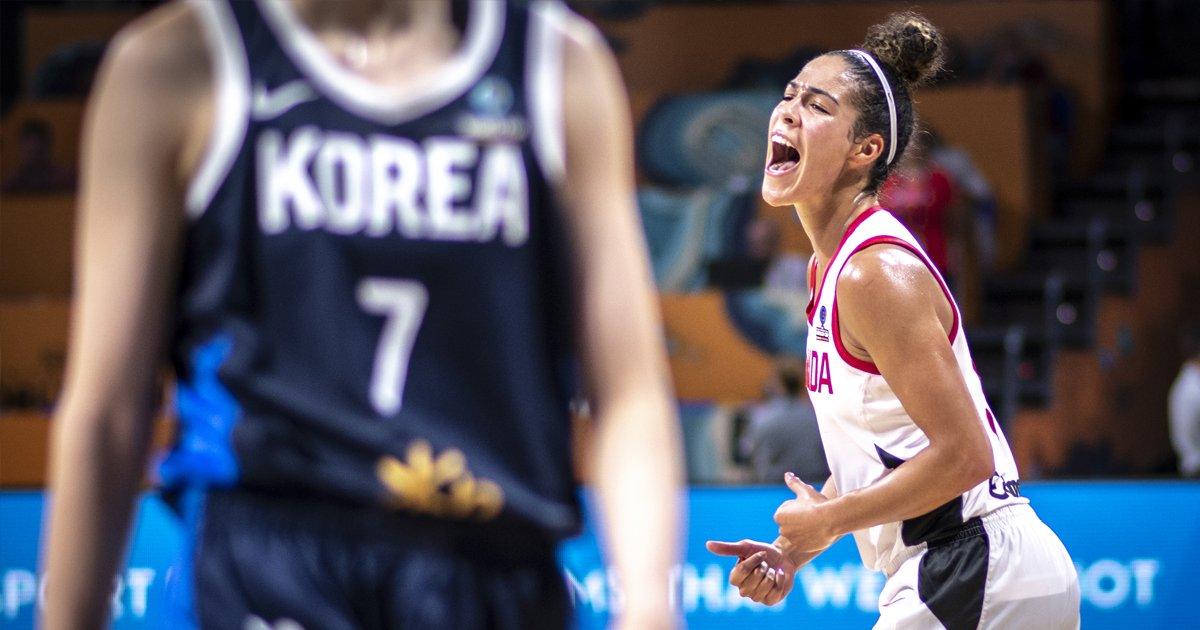 Canada remains unbeaten at FIBA Women's Basketball World Cup 2018