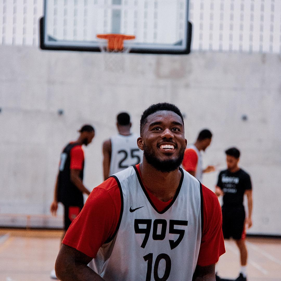 Raptors 905 Announce Opening Day Roster that includes three Canadians