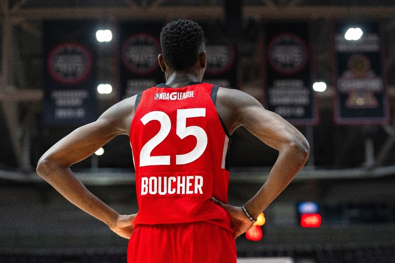 Chris Boucher's monster game helps Raptors 905 to a thrilling 126-125 win over Delaware