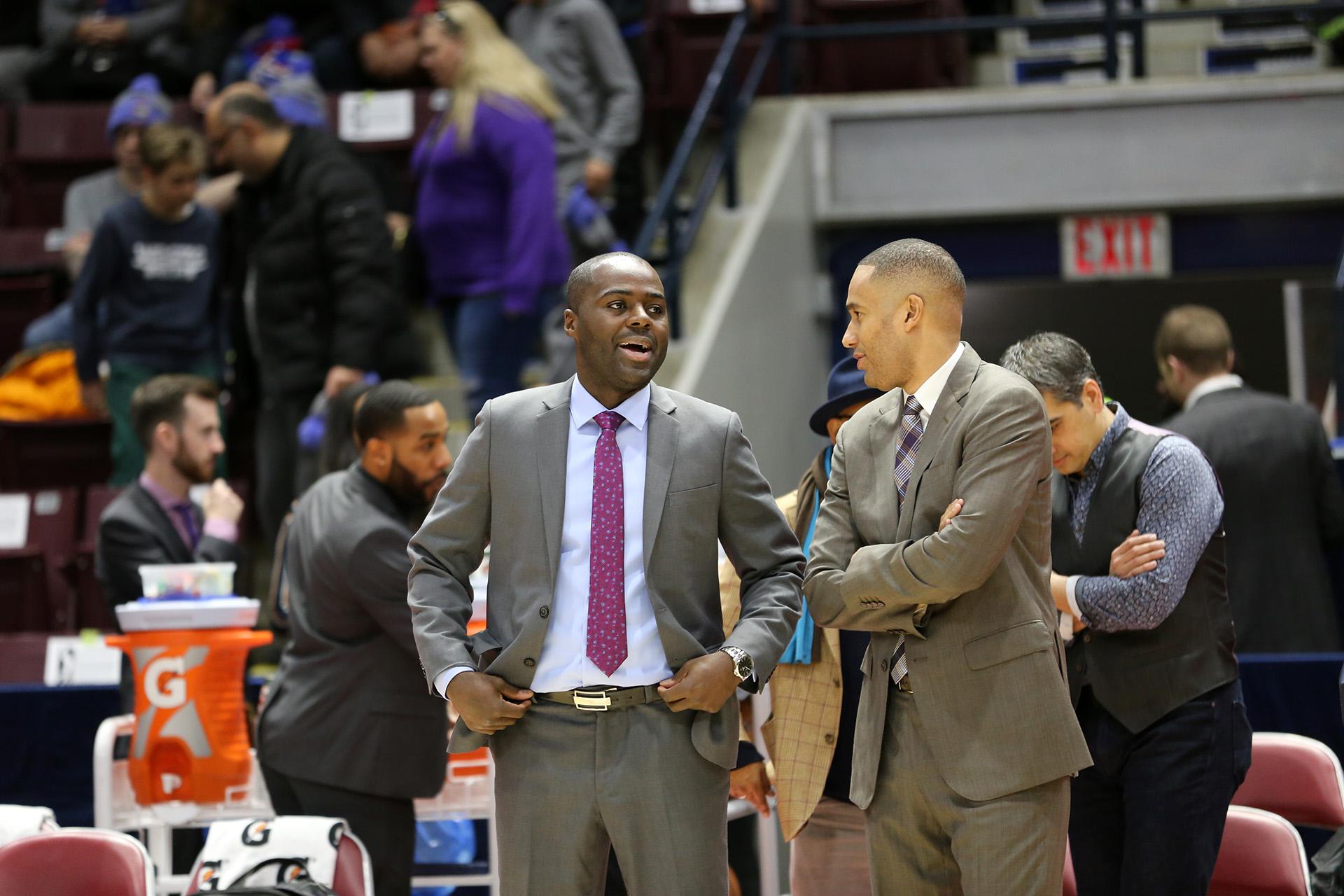 Charles Kissi paving coaching path through Raptors 905, U Sports