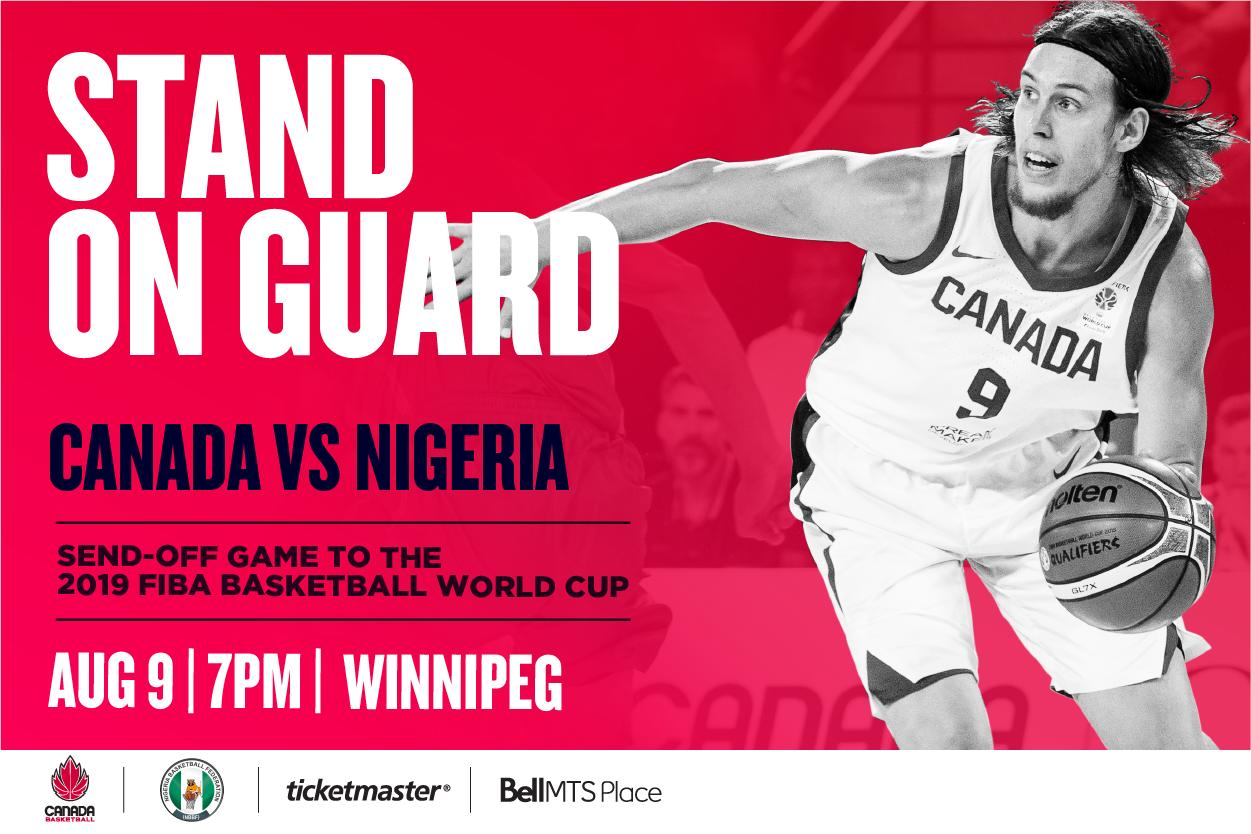 Team Canada to Face Nigeria in Winnipeg on the road to the World Cup