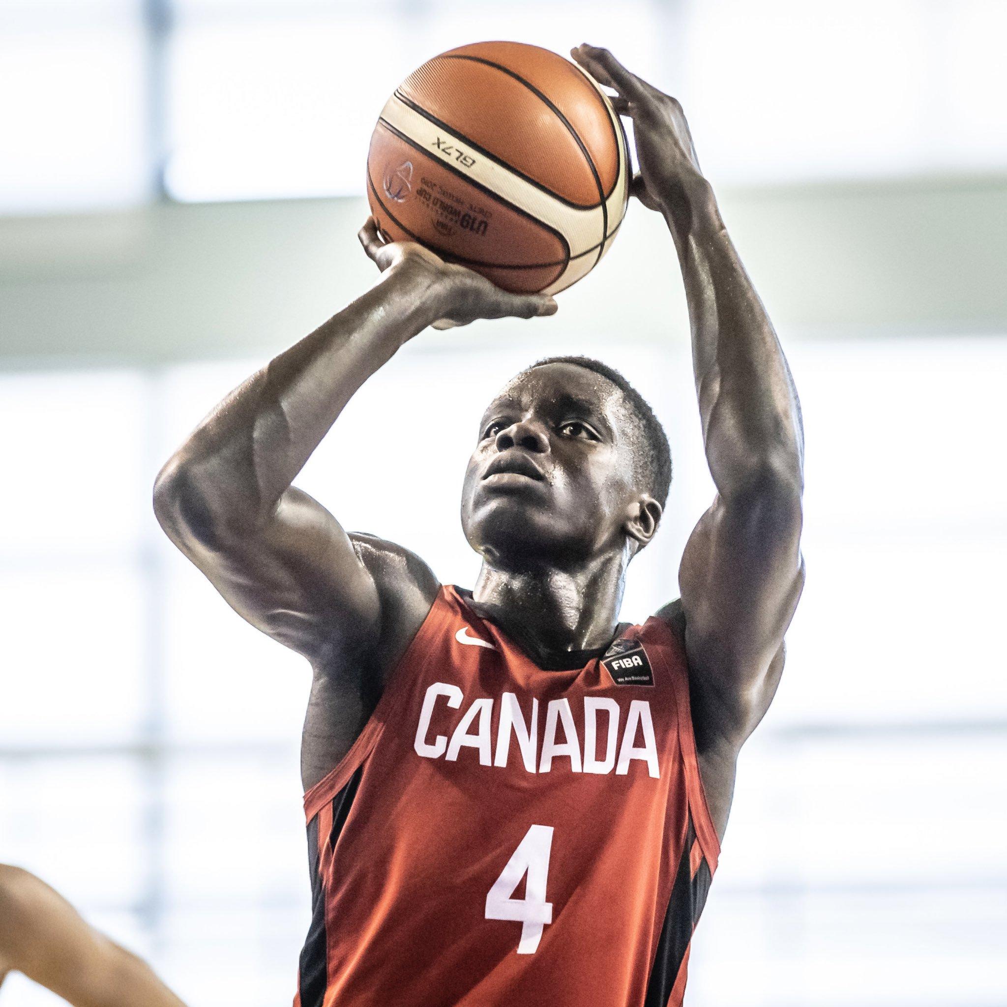 Canada defeats Australia to open the FIBA U19 Basketball World Cup 2019