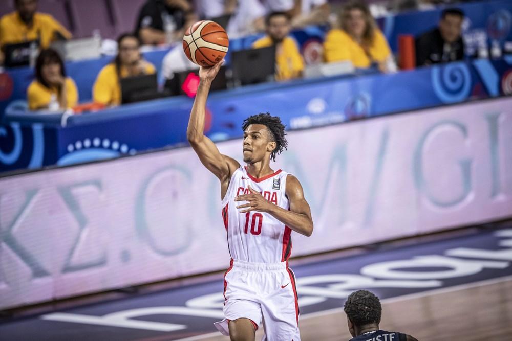 Canada falls to France in Quarter-Finals at FIBA U19 Basketball World Cup