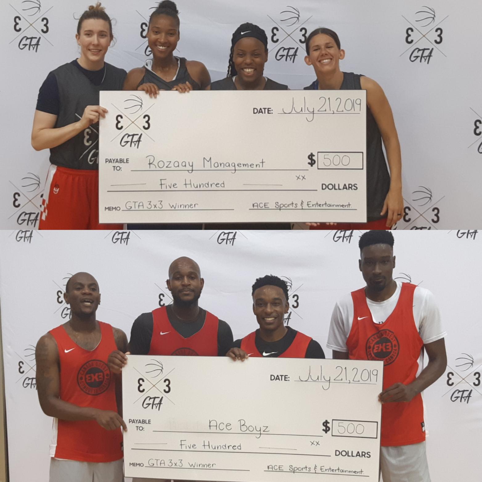 ACE Boyz and Rozaay Management Winners of GTA 3X3 Tournament