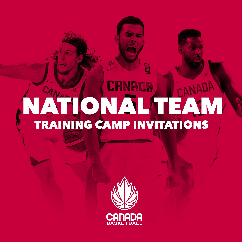 29 Athletes Invited to Attend Senior Men's National Team Training Camp