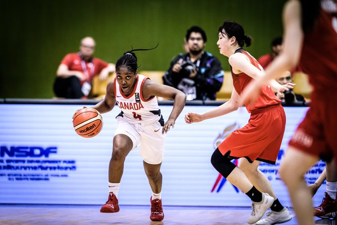 Canada defeats Japan in Classification Round at FIBA U19 Women's Basketball World Cup 2019