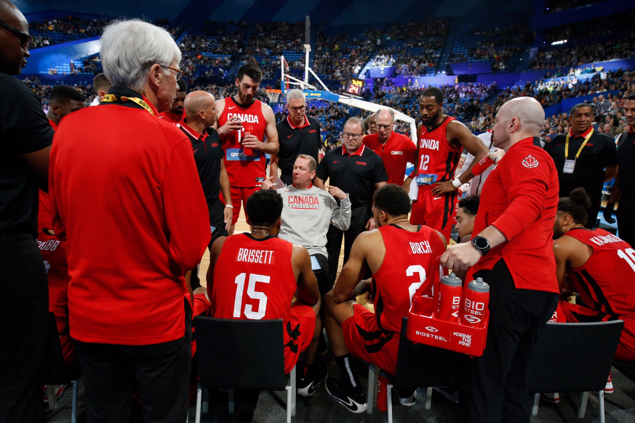 Canada downs New Zealand as International Basketball Series shifts to Sydney