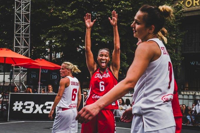 Canada wins the FIBA 3X3 Women's series Prague