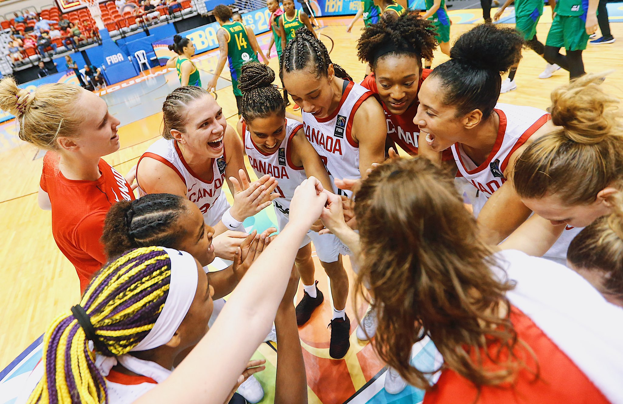 Canada advances to the FIBA Women's Americup Finals after a tough battle with Brazil