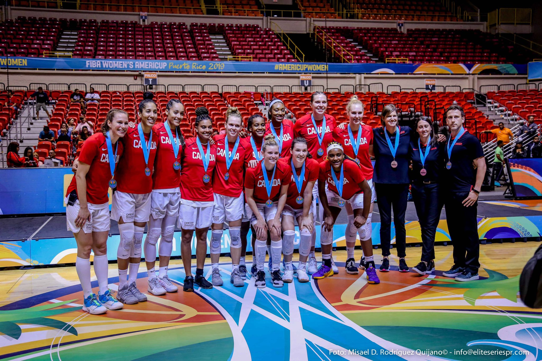 Canada finishes second at the FIBA Women's Americup 2019