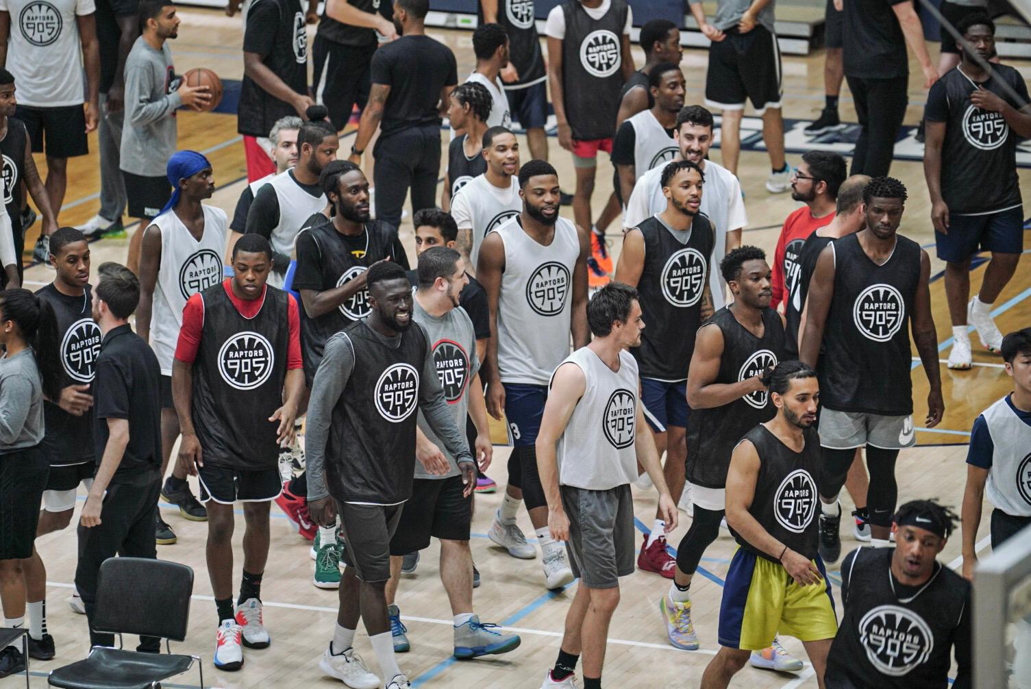 Raptors 905 open tryout yields almost 100 aspiring NBA G League ballers