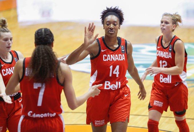 Canada dominates Mexico in FIBA Women's Americup Opener