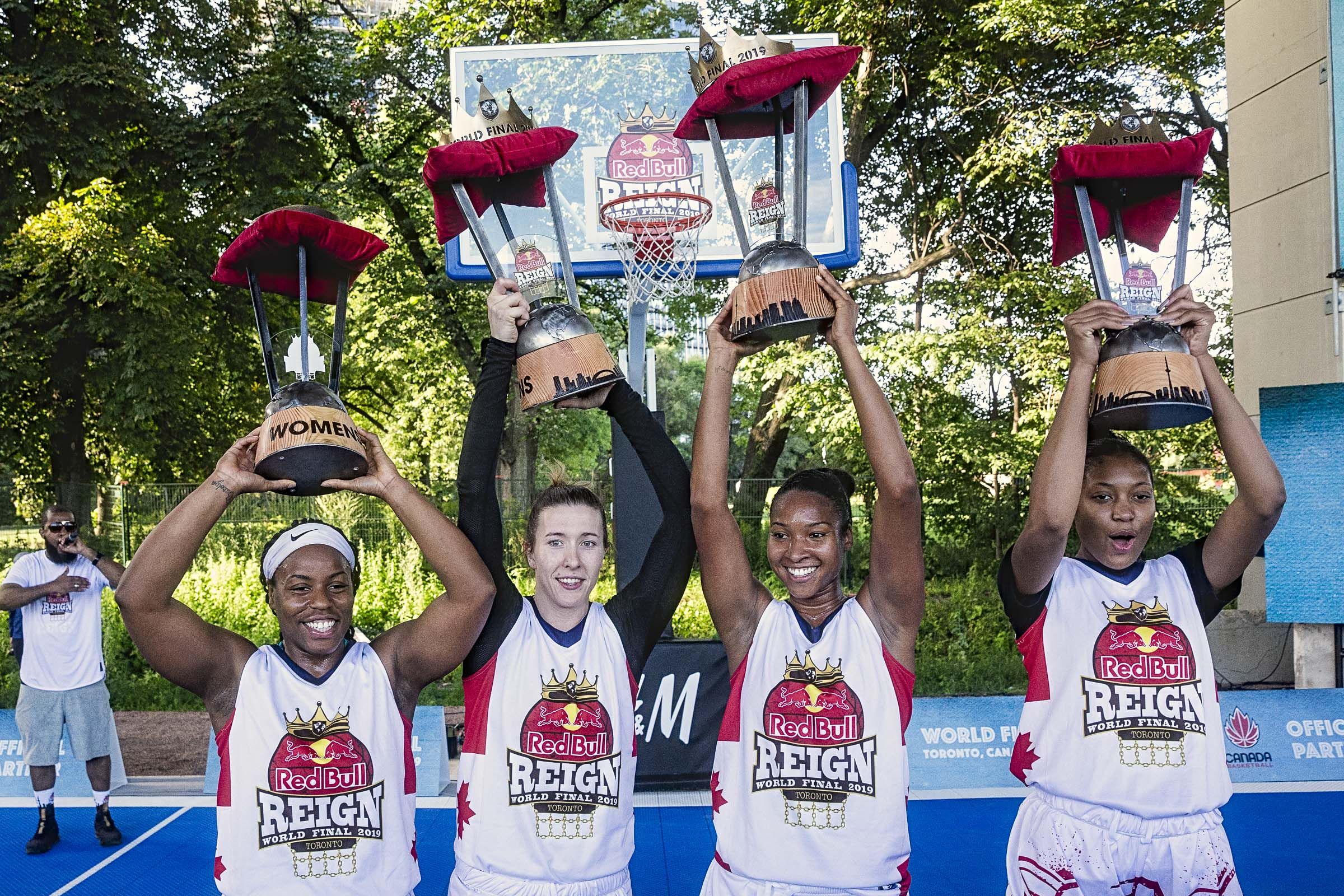 Canada's Women 3X3 Red Bull Reign World Champs, Men bow out in Global Semis