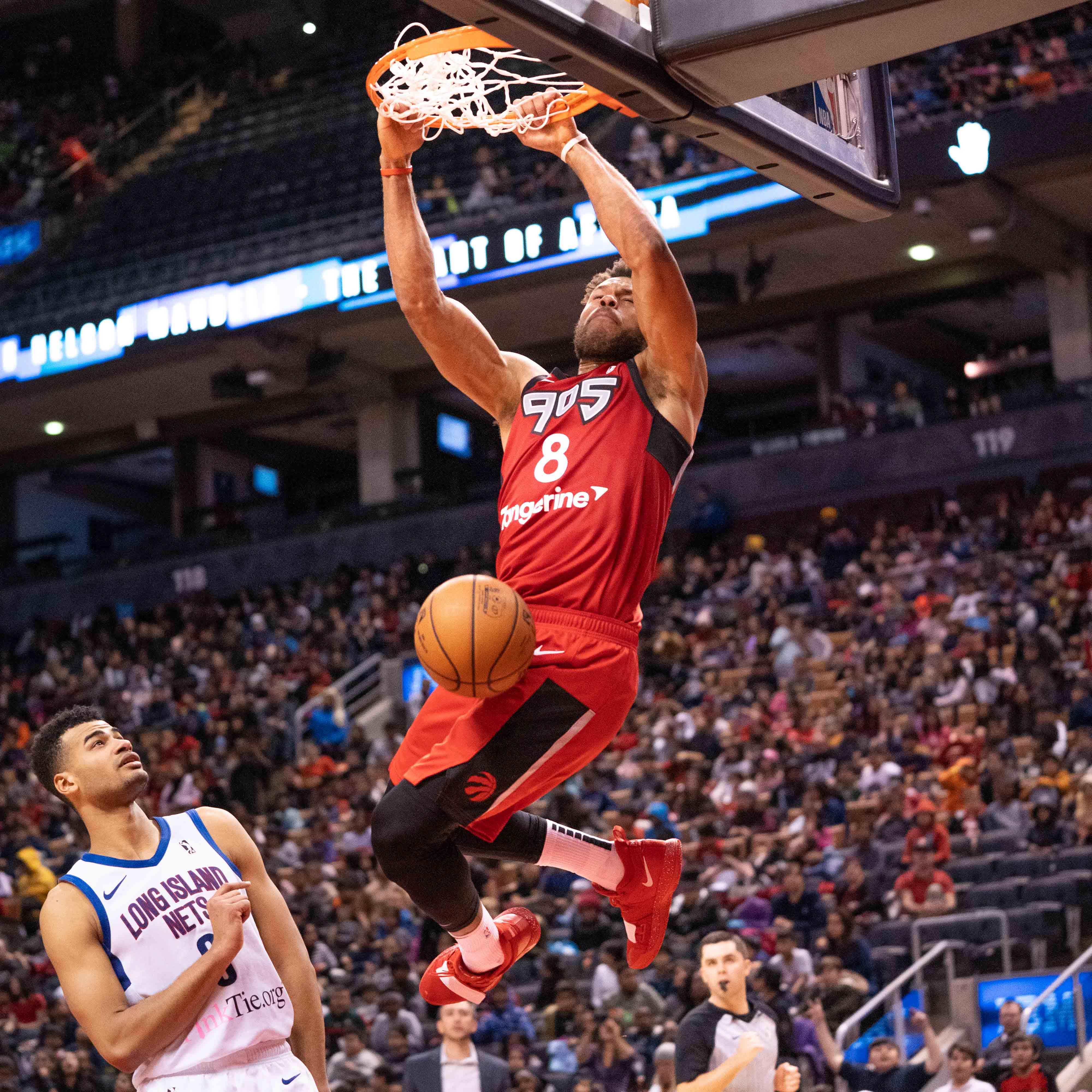 Raptors 905 comeback falls short in loss to Long Island