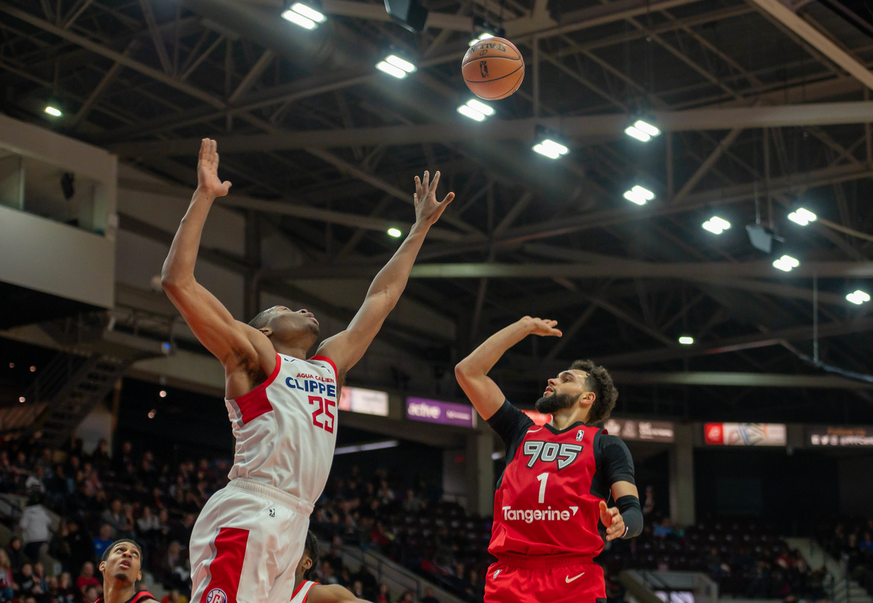 Raptors 905 fall on New Year's Day to the Agua Caliente Clippers