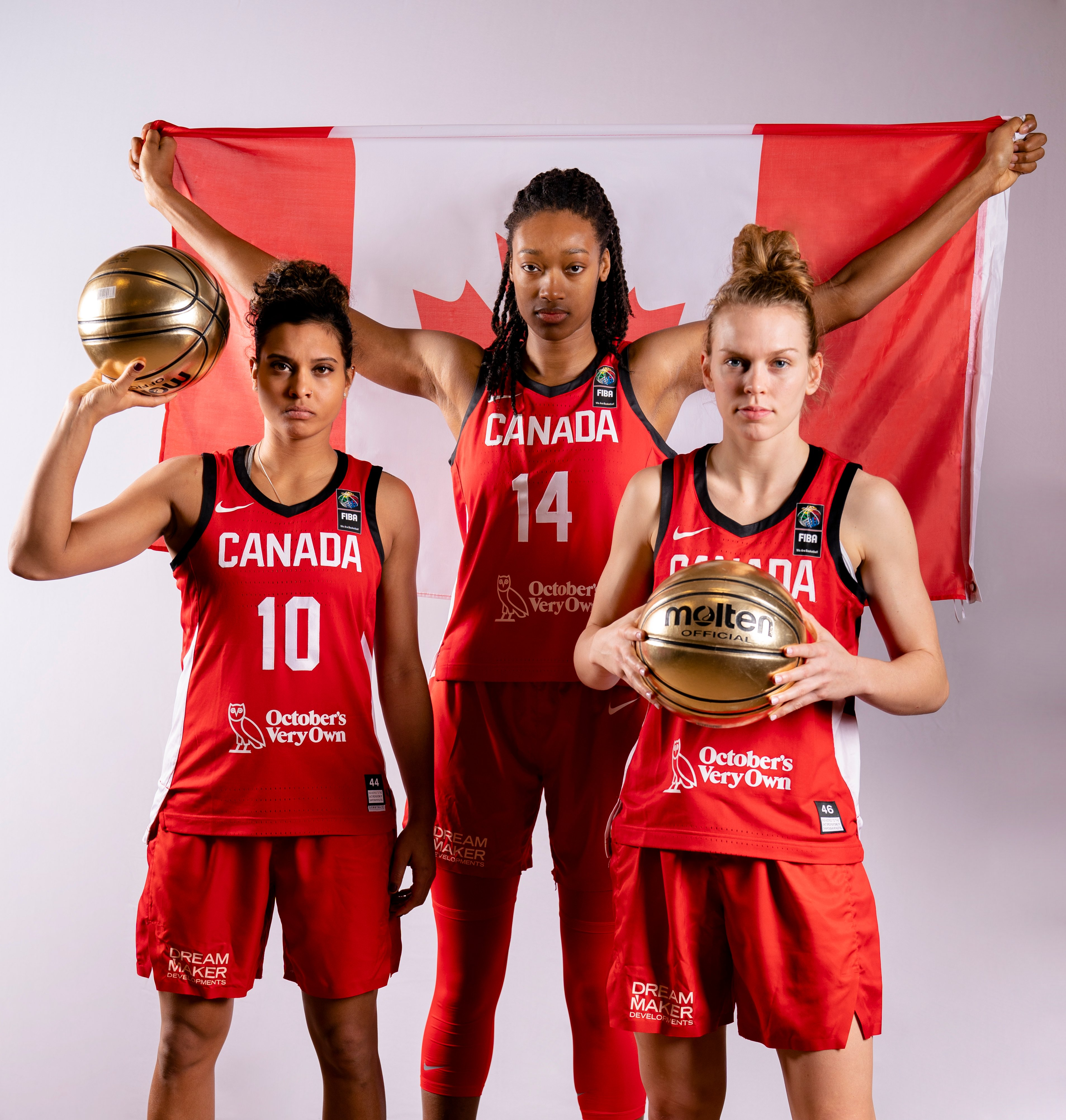 OVO and Canada Basketball unveil support of Team Canada at Women's Olympic Qualifying Tournament in Belgium