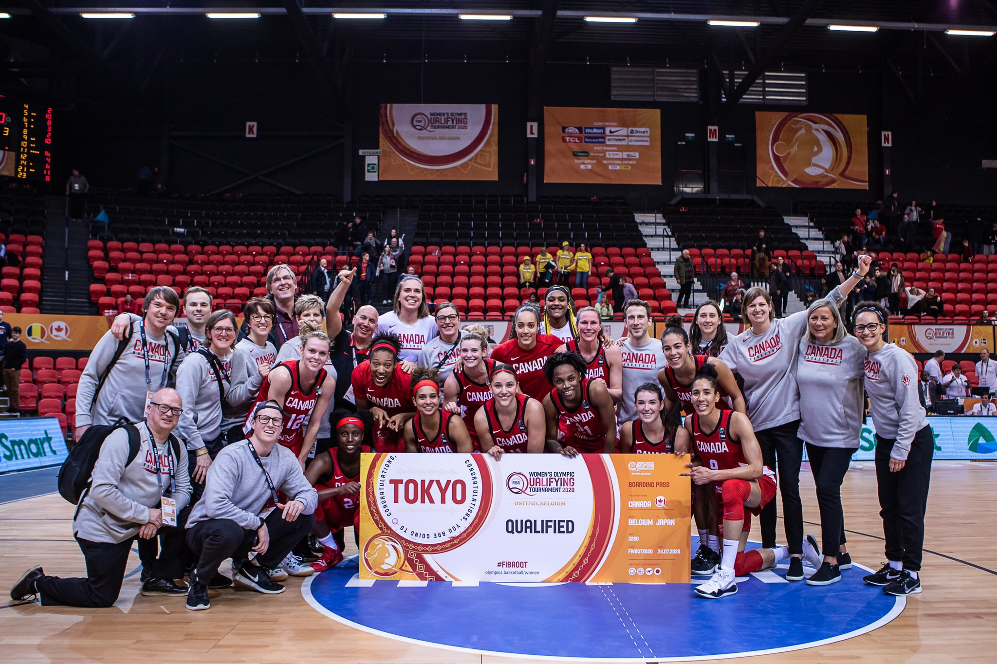 Canada qualifies for Tokyo 2020 Olympics with victory over Sweden