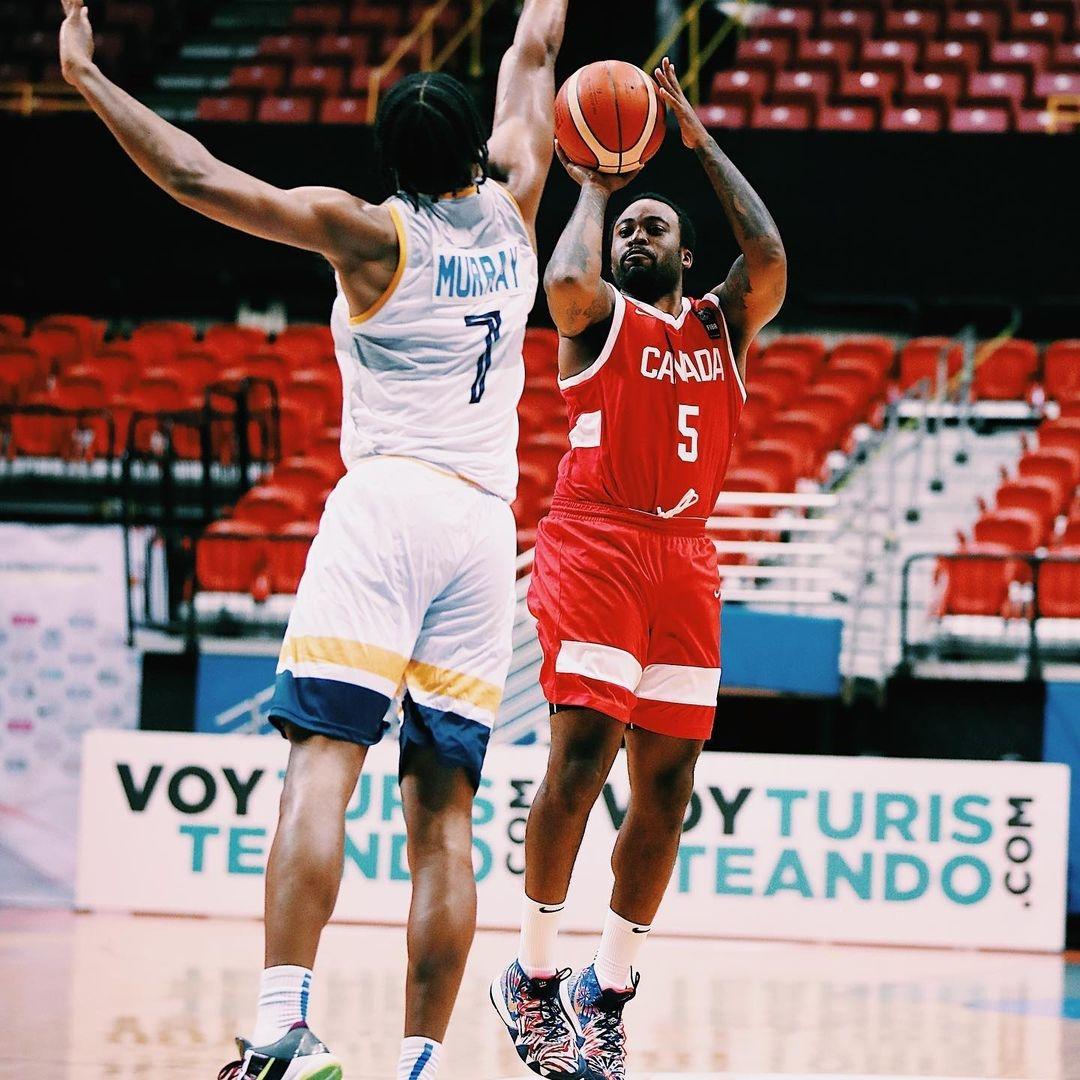 Canada Basketball FIBA Americup vs. the U.S. Virgin Island observations