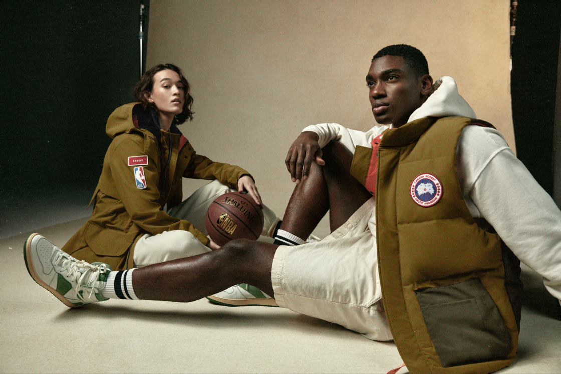 Canada Goose teams up with the NBA & designer Rhude for 3-year All-Star Weekend partnership