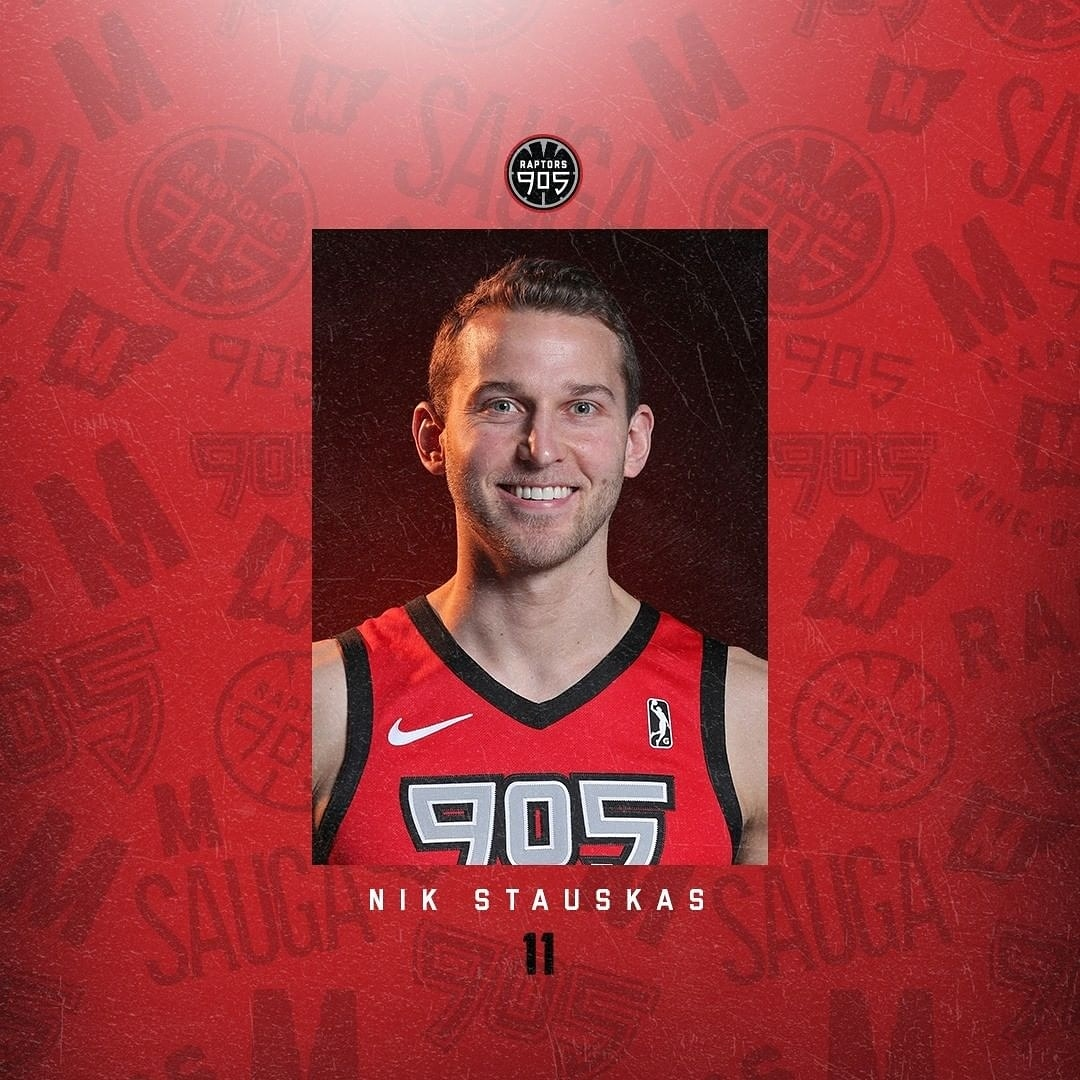 Nik Stauskas relishing success in the NBA G League Bubble as 905 surge to the top of the league standings