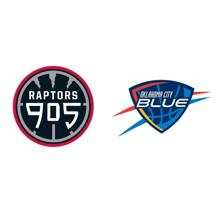 Raptors 905 Leave Oklahoma City Feeling Blue in Rout