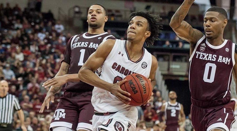 South Carolina's star guard AJ Lawson declares for the 2021 NBA Draft