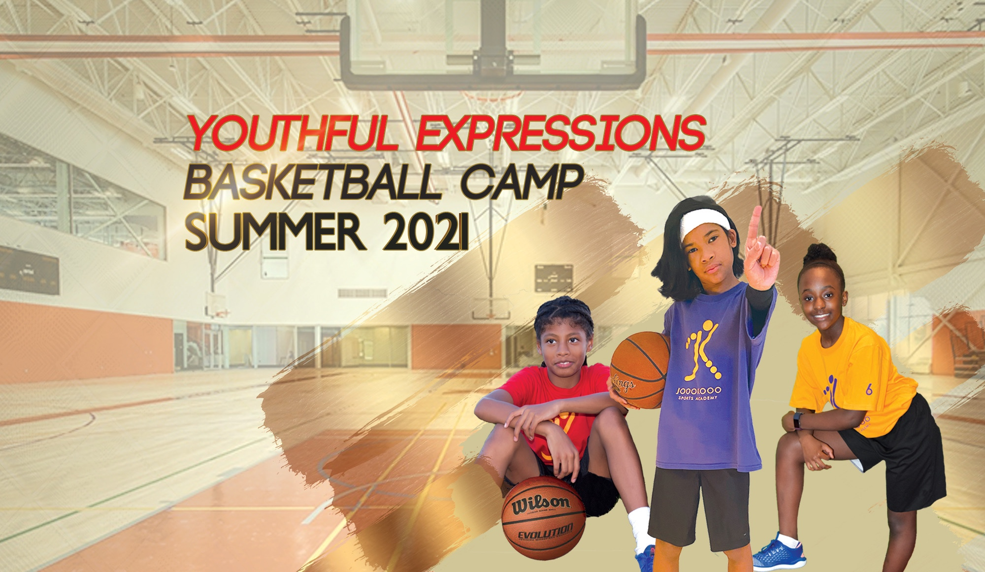 Joookooo Sports Academy free summer basketball camp starts July 5th
