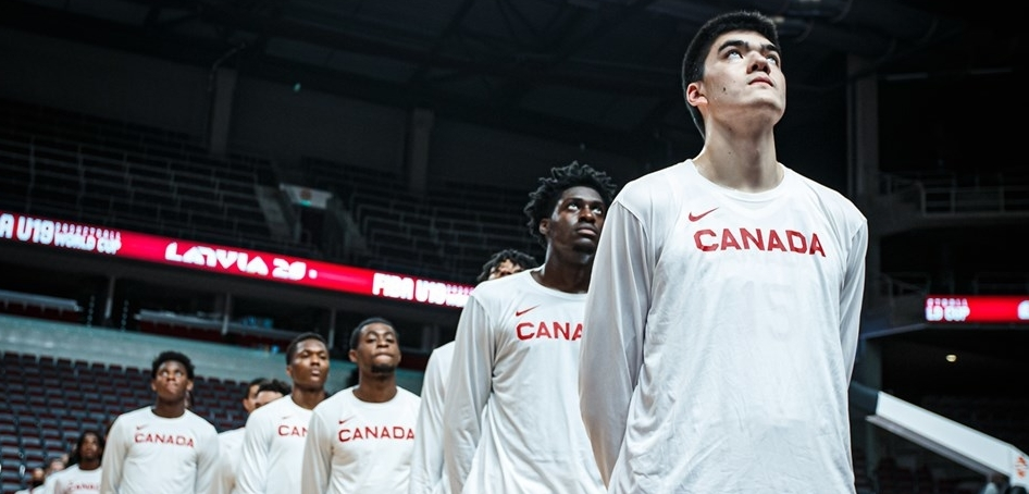 Canada books ticket to FIBA U19 semis with tough 81-77 win over Spain & will play the USA on Saturday