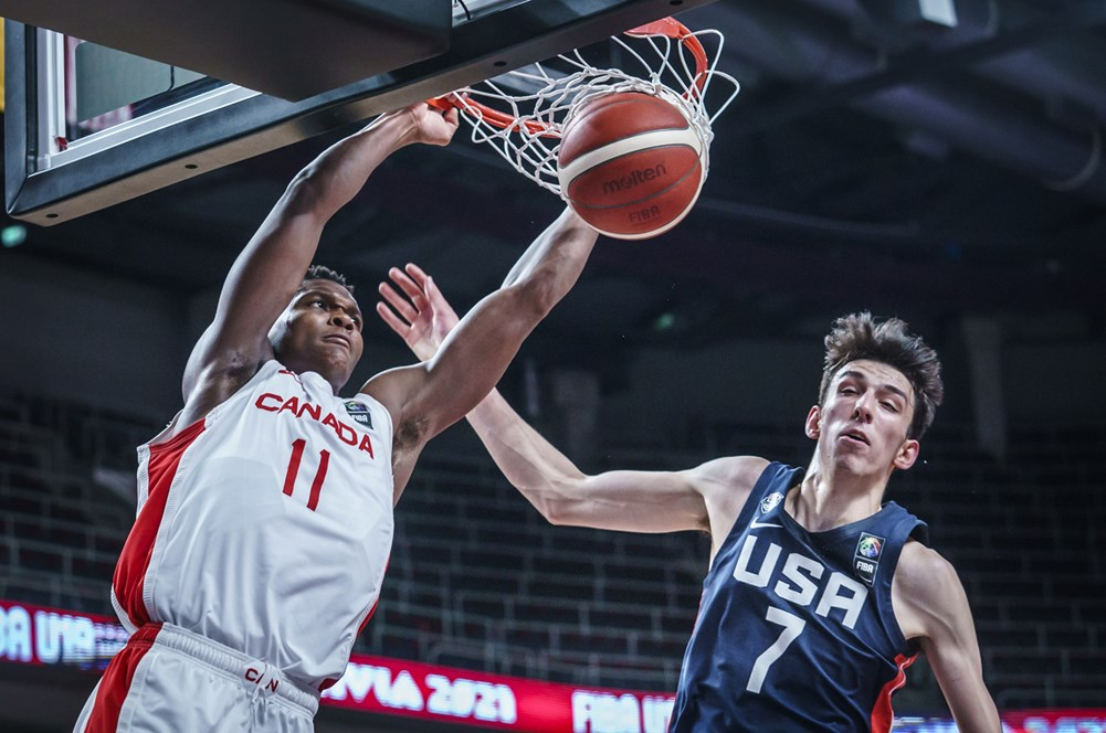 Canada falls short to the USA 92-86 in FIBA U19 World Cup, play Serbia for Bronze